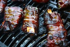 Bacon Wrapped Ribs - 25