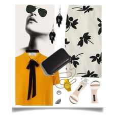 """Untitled #1012"" by petalp ❤ liked on Polyvore featuring J.Crew, Elvi, Clare V., Alexa Starr, Ray-Ban, Toy Watch, Thomas Sabo and Lord & Taylor"