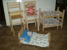 Dollhouse Some good ideas and some so-so ideas for dollhouse furnishings