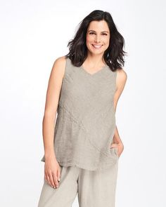 Tops – Page 4 – Linen Woman Plus Size Stores, Crop Blouse, Woman, Sweaters, How To Wear, Jackets, Outfits, Collection, Tops