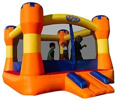 Blast Zone Play Palace Inflatable Bou…