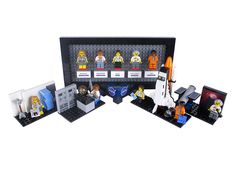 Lego figurines of five storied female NASA pioneers will soon grace toy-store shelves. The project, proposed by a science writer, is meant to shed light on women's contributions to the space program.