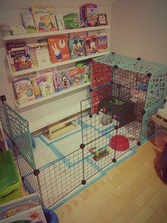 Diy indoor rabbit cage                                                                                                                                                      More