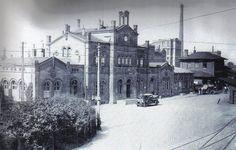 Der Bockenheimer Westbahnhof 1848.