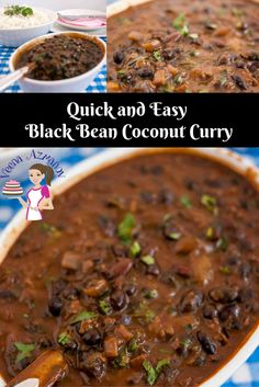 This black bean coconut curry is a healthy addition to any diet. You can use them dried  or canned.  Using canned black beans makes it quick and easy. Black beans are high in protein, high in fiber and an excellent antioxidant for the body a great addition to the family diet.  Black Bean Coconut Curry, Quick and Easy, Cooking, Indian Curry, healthy eating.