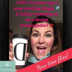 #ThrowbackThursday Jan 5 2005 I was starting @virginatlantic training & now I'm a @dermalogicaUK Brand Ambassador 💋