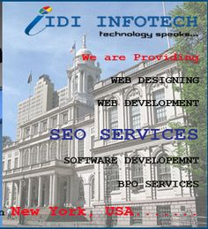IDI Infotech is a leading SEO Company in India, offering best SEO services in New York , USA. We are the provider of Best SEO, Top SEO Services, Good and Professional Search Engine Optimization. Online Marketing Services, Best Seo Services, It Services Company, Seo Company, Seo Packages, Seo Specialist, Search Engine Marketing, Best Web Design, City State