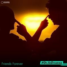 If you have a signature greeting style when you meet your #BFF, you are #DilSeDharma