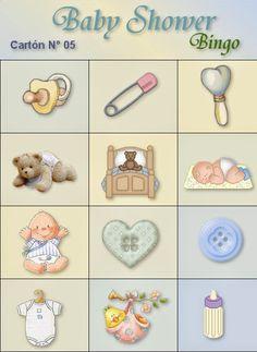 Loteria Para Baby Shower, Bingo Baby Shower, Moldes Para Baby Shower, Panda Bebe, Juegos Baby, Bebe Shower, Ideas Para Fiestas, Baby Scrapbook, Looney Tunes