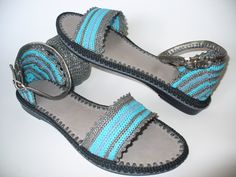 The Big Egyptian Crochet Sandals created by LeeLu