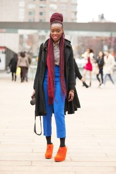 Folasade Adeosl, model/blogger/student, has locks that we can't help but love.