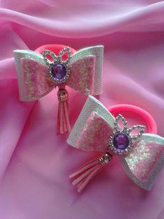 Одноклассники Diy Crafts Hacks, Balerina, Ribbon Hair Bows, Headbands, Hair Accessories, Embroidery, Crochet, Earrings, Pink