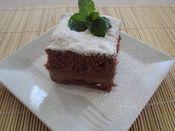 Čokoládový koláčik s mascarpone krémom Pudding, Desserts, Food, Mascarpone, Tailgate Desserts, Deserts, Custard Pudding, Essen, Puddings