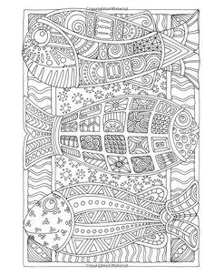 Poissons Angela Porter's Zen Doodle Animal
