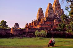 Angkor -Pre Rup temple in the afternoon | Flickr-Blurb book preview http://blur.by/1fRRf3h