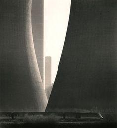 A train passes nuclear power plant silos.