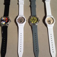 #may28th #trendy #fashion #watch #watches #colours #prints #siliconstraps via @Carpal Watch Plus