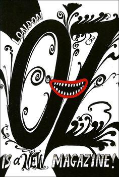 Oz Magazine cover art by Martin Sharp, 1967