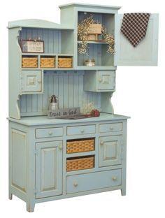 oak kitchen hutch - Google Search