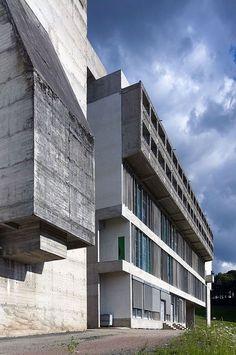 Le Corbusier, Cemal Emden · Couvent Sainte-Marie de la Tourette · Divisare