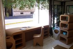 Cardboard Furniture » Curbly | DIY Design Community