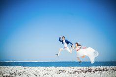 大阪マーブルビーチ*結婚式写真*ロケーション撮影