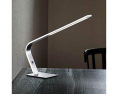 Stolní lampa LED WOFI  WO 8313.01.01.0000 | Uni-Svitidla.cz Moderní pracovní #lampička s paticí LED pro světelný zdroj #modern, #lamp, #table, #light, #lampa, #lampy, #lampičky, #stolní, #stolnílampy, #work, #led