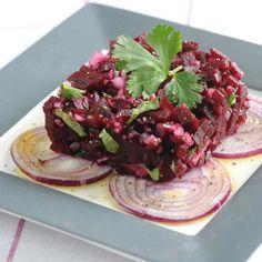 Découvrez la recette Tartare de betterave sur cuisineactuelle.fr.