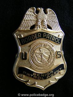 Badge US Borderpatrol by dynamicentry122, via Flickr