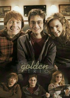 Harry Potter ~ The Golden Trio oh my gosh they look tooo cute here! Harry Potter Humor, Harry Potter World, Saga Harry Potter, Mundo Harry Potter, Theme Harry Potter, Harry Potter Books, Harry Potter Love, Harry Potter Universal, Harry Potter Friendship