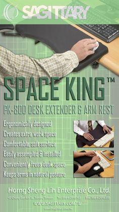 Space King PK-800 Desk Extender by Sagittary