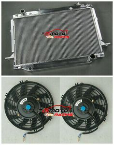 Aluminum Radiator for TOYOTA LANDCRUISER FZJ80 //LEXUS LX450 4.5L PETROL 1FZ-FE