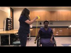 "Lone Star College-Kingwood Presents Occupational Therapy Assistant Program Instructional Videos ""Theraband Exercises in the Wheelchair"" Demonstrated by Class. Geriatric Occupational Therapy, Occupational Therapy Assistant, Occupational Therapy Activities, Stroke Therapy, Ot Therapy, Hand Therapy, Physical Therapy Exercises, Body Exercises, Infant Lesson Plans"