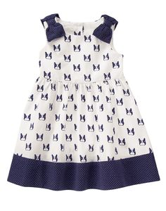 Puppy Print Dress at Gymboree