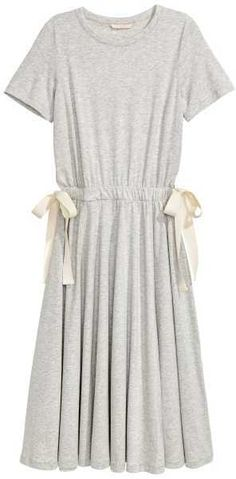 H&M Jersey Dress with Ties