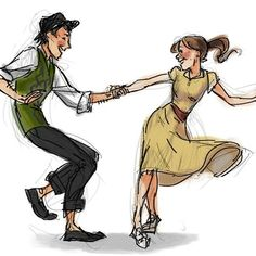Drawing Poses Couple Dancing 38 New Ideas Dancing Drawings, Drawing Poses, Art Drawings, Dancing Sketch, Drawing Ideas, Drawing Drawing, Bailar Swing, Character Inspiration, Character Art