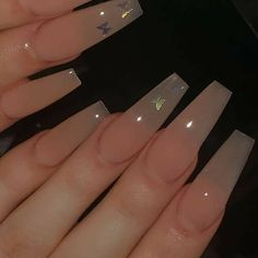 Bling Acrylic Nails, Acrylic Nails Coffin Short, Simple Acrylic Nails, Best Acrylic Nails, Acrylic Nail Designs, Gel Nails, Manicure, Dope Nail Designs, Coffin Nails