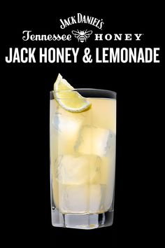 JACK HONEY & LEMONADE Jack Daniel's cocktails always make the team. Mix one up before posting up on the couch. Booze Drink, Liquor Drinks, Dessert Drinks, Cocktail Drinks, Cocktails, Jack Daniels Honey Drinks, Jack Daniels Lemonade, Mixed Drinks Alcohol, Alcohol Drink Recipes