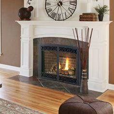 Thief River Falls gas fireplace by Kozy Heat. | Fireplace ...