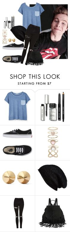 Luke Hemmings by penguinx14 on Polyvore featuring Mode, MANGO, Topshop, Vans, Accessorize, Eddie Borgo, Halogen and Bobbi Brown Cosmetics