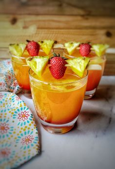 """A Smooth Pineapple Rum Cocktail """"Bliss"""" – Queen Thrifty"""