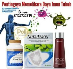 You Choose The Better You, Your Better Future.: TINGKATKAN IMUN BADAN DENGAN SHAKLEE