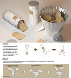 snacks packaging design