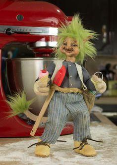 Fenwick the baker ooak goblin art folk http://www.ebay.com/itm/291159155166?ssPageName=STRK:MESELX:IT&_trksid=p3984.m1555.l2649