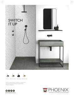 Bathroom Stuff, Matte Black, Chrome, Shower, Elegant, Rain Shower Heads, Classy, Chic, Showers