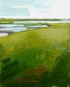 """Saatchi Art Artist Ben Mcleod; Painting, """"Embankment and the Bay II"""" #art"""