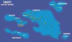 tahiti | Főszigete: Tahiti Fővárosa: Papeete