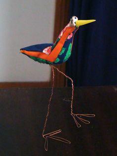 colorful ostrich!