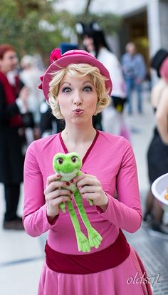 disney my cosplay The Princess and the Frog charlotte la bouff ...