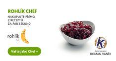 Rybízová marmeláda recept | Roman Vaněk Roman, Tableware, Author, Dinnerware, Tablewares, Dishes, Place Settings